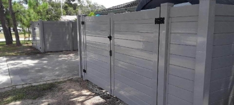 Gray Horizontal T & G DD Gates